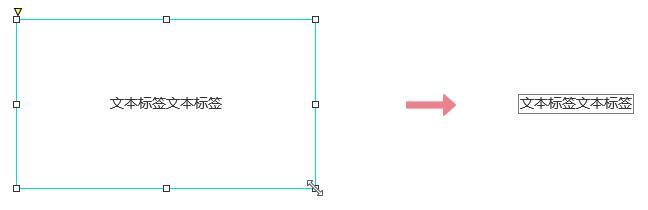 【Axure基础教程】文本如何设置自动适应文本宽度高度