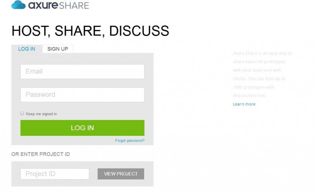 【Axure8基础教程】如何免费在线托管原型并实时访问