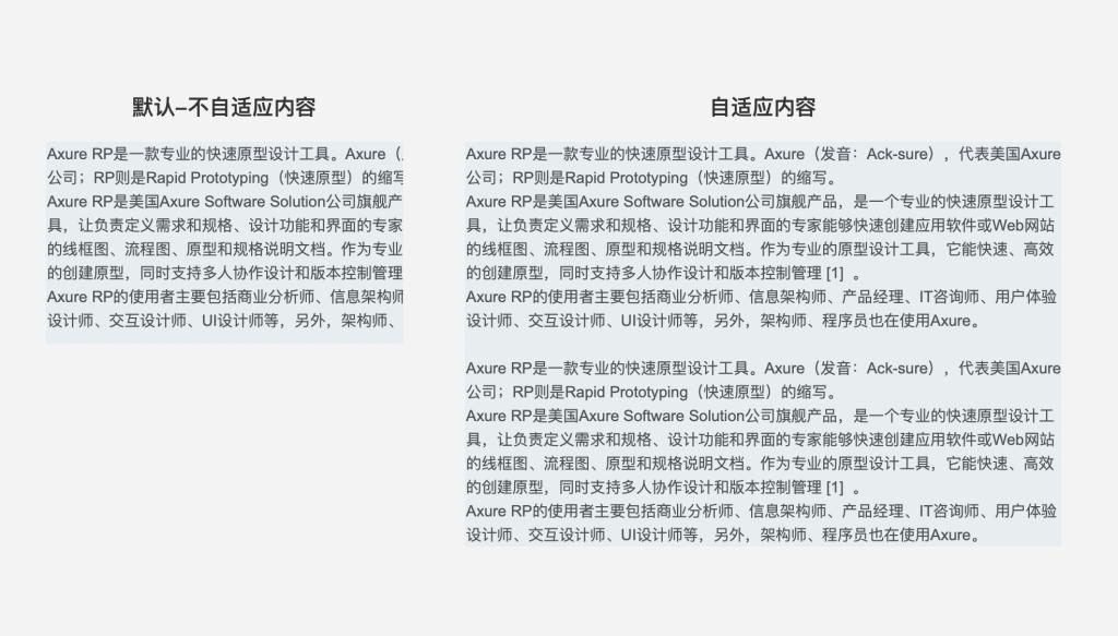 【Axure9基础教程】动态面板之自适应内容
