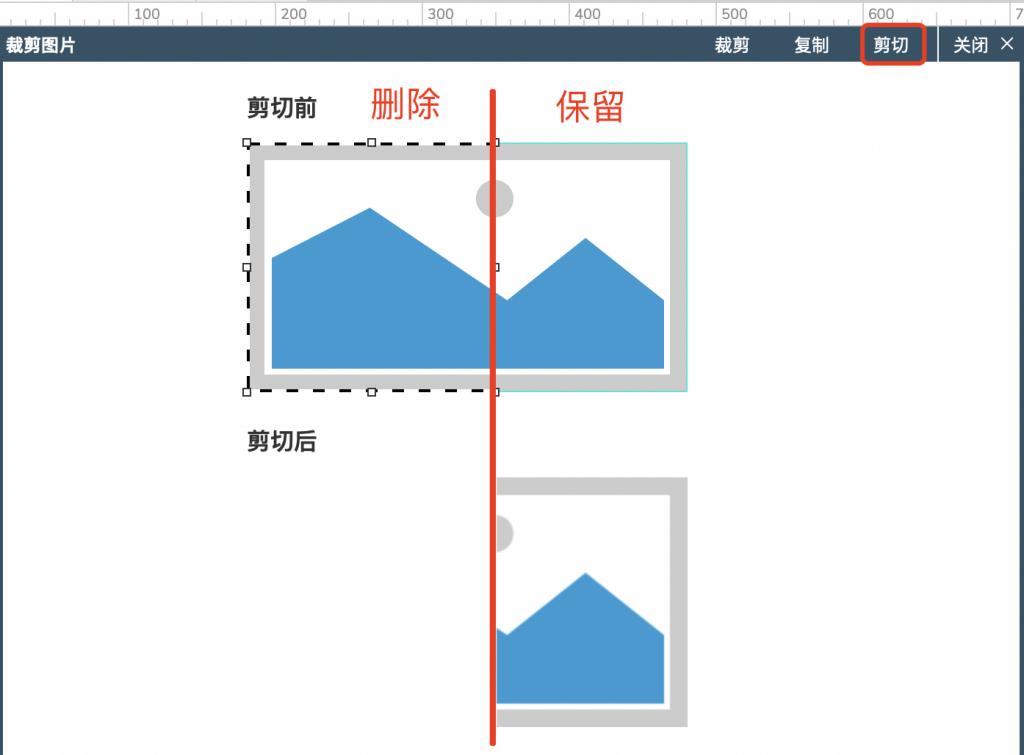 【Axure9基础教程】元件操作之切割图片与裁剪图片
